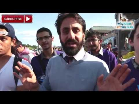 Street Dawah with Hamza Tzortzis in Inner Harbor, Baltimore! | What's Your Goal with 150 Volunteers