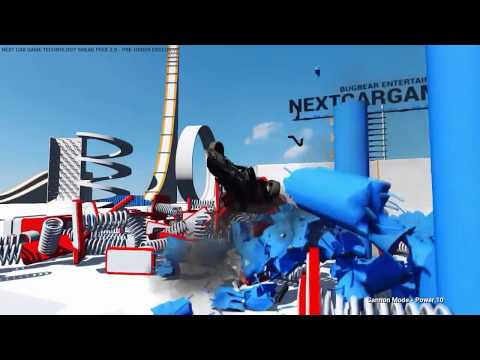 Next Car Game Technology Sneak Peek 2.0 gameplay part 4 - Springboard Booster