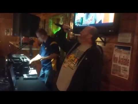 Creed - With Arms Wide Open (karaoke at Dry Dock in Harvey, MI)