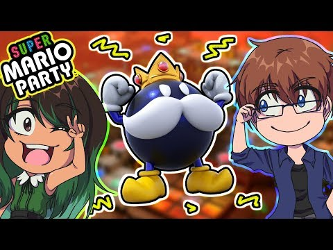 💣 DEN SPRINGFARLIGE BANE 1/2 - Super Mario Party (Switch)