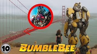 Top 10 Easter Eggs You Missed In Bumblebee