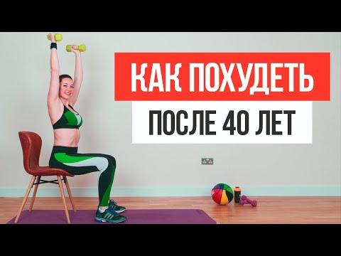 Комплекс упражнений для похудения в домашних условиях для женщин за 40