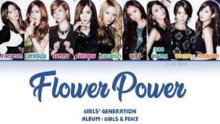 Gambar cover Girls' Generation (少女時代) – FLOWER POWER Lyrics (KAN/ROM/ENG)