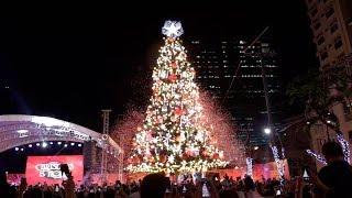 Sarah G., Vice Ganda grace lighting of Araneta Center's giant Christmas tree