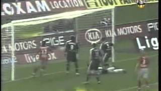 2005 (September 17) Bordeaux 1 -Olympique Lyonnais 1 (French Ligue 1)