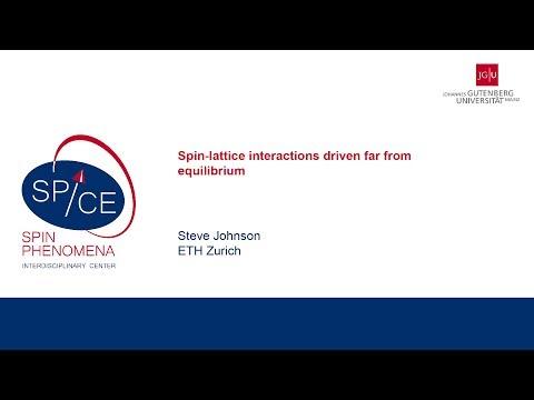 Talks - Non-equilibrium Quantum Matter - Steve Johnson, ETH Zurich
