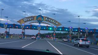 First time going to Magic Kingdom at night!
