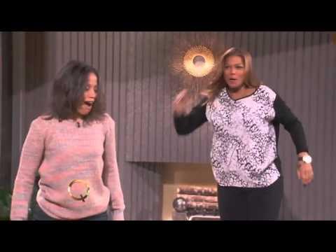 Stuntwoman Angela Meryl down on The Queen Latifah