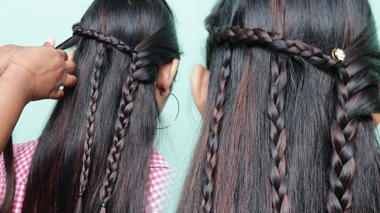 Easy Hairstyle For Party Hairstyle For Occasion Latest Hairstyles Baby Hairstyle