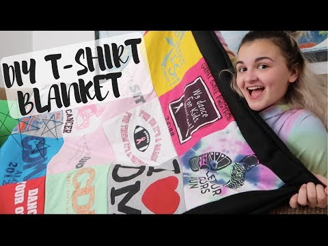 Make your own tshirt memory quilt
