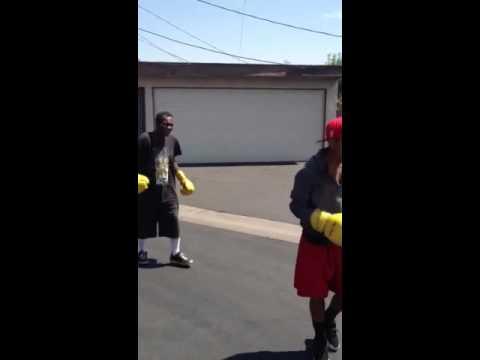 Darryl boxing