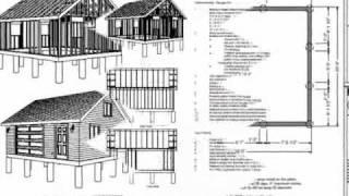 #g448 24 X 20 X 8 Garage Plan