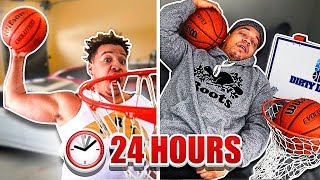I Only Played BASKETBALL For 24 Hours!! (IMPOSSIBLE CHALLENGE)