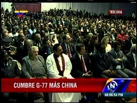 Comienza Cumbre G77+China en Bolivia
