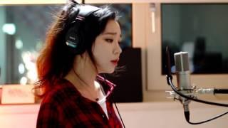 فتاة كورية تغني بصوت رهيب اغنية اجنبية [مترجمة]
