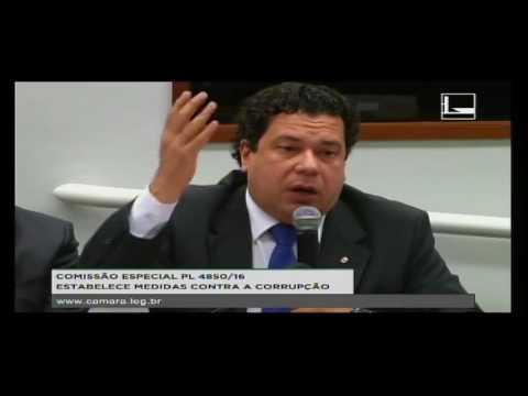 PL 4850/16 - ESTABELECE MEDIDAS CONTRA A CORRUPÇÃO - Reunião Deliberativa - 19/10/2016 - 15:00