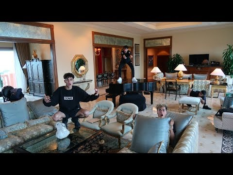 HIDE AND SEEK IN WORLD'S MOST EXPENSIVE HOTEL SUITE!