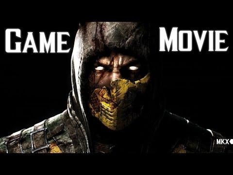 Mortal Kombat X All Cutscenes 60FPS (Game Movie) 1080p HD