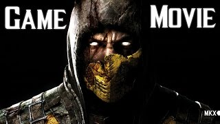 Mortal Kombat X All Cutscenes 60FPS (Game Movie) 1080p HD