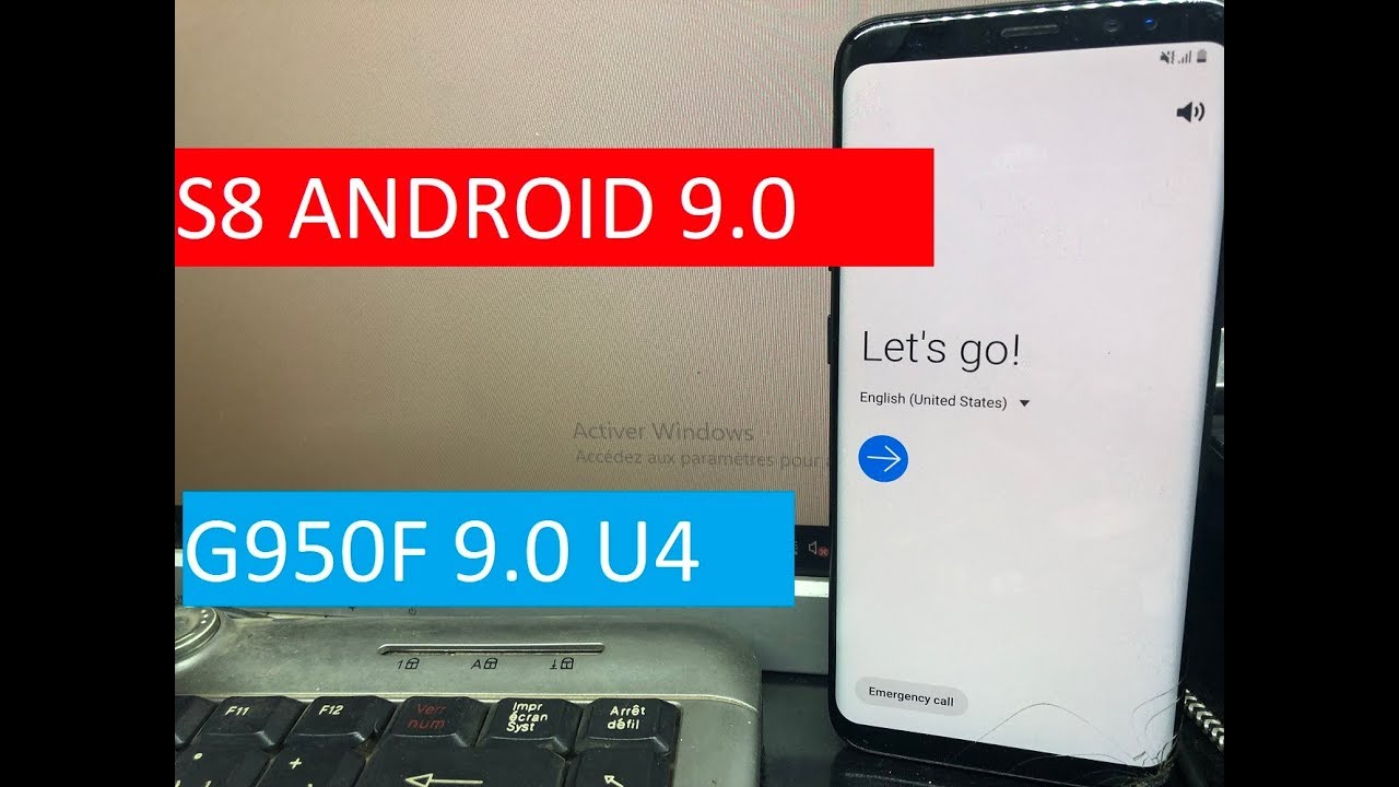 new method 2019 14 Avril REMOVE FRP SAMSUNG S8 ANDROID 9 0 BINARY U4 / FRP  G950F 9 0 U4