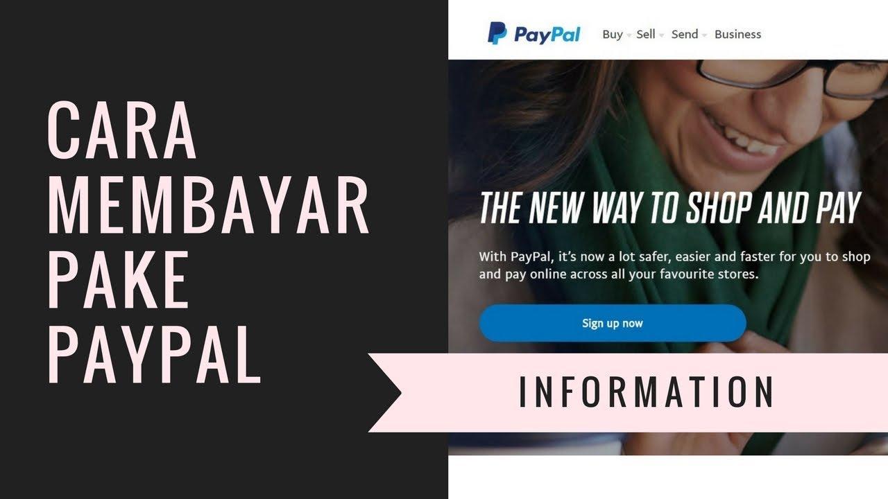 Cara Membayar Menggunakan Paypal Youtube
