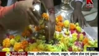 Anandeshwar Mandir Me Laga Chandi ka Darwaja