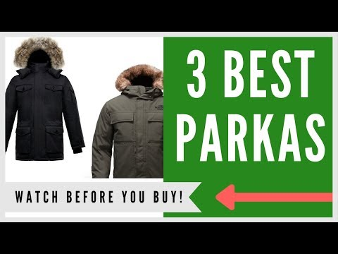 ✅ Best Parka For Cold Weather -- Top 3