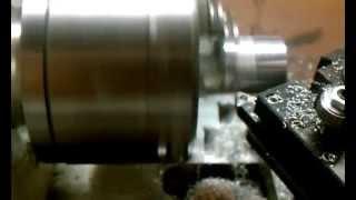 Mini V8 Piston Cut