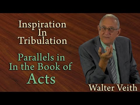 Parallels in the Book of Acts - Walter Veith