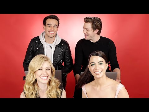 "The Cast Of ""Shadowhunters"" Discover Which Character They Really Are"