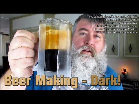 How To Make BEER- Dark! - Day 16,701