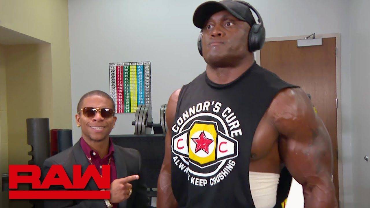 Lio Rush Motivates Bobby Lashley Raw Sept 10 2018 Youtube