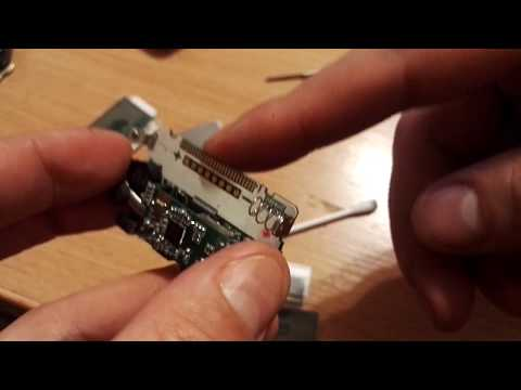Замена дисплея брелка сигнализации StarLine A93. Процесс.