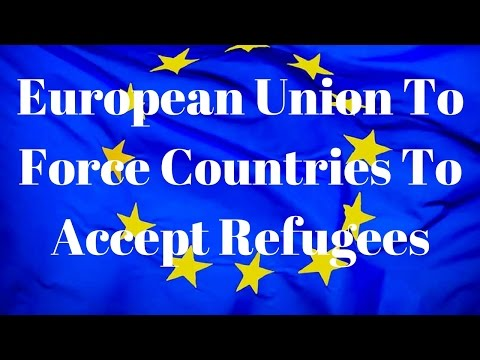 EU to Force Members To Accept Muslim Refugees