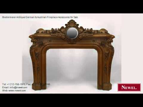 Biedermeier Antique German & Austrian Fireplace Accessories