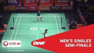 SF | MS | Kento MOMOTA (JPN) [1] vs CHEN Long (CHN) [6] | BWF 2018