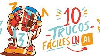 10 TRUCOS PARA DIBUJAR FÁCIL EN ILLUSTRATOR-Andreaga
