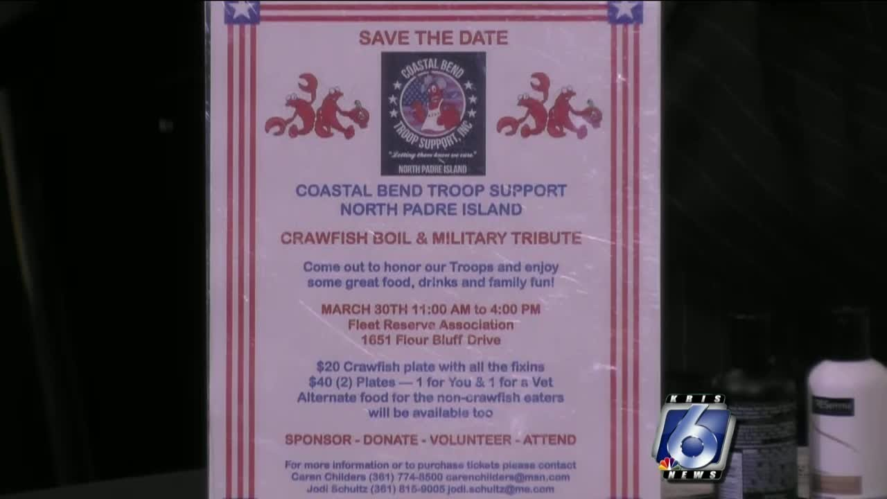 Community invited to crawfish boil and military tribute