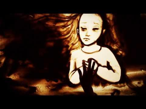 """Песочная анимация памяти Чернобыльской трагедии - Sand art """"Chernobyl"""" (Kseniya Simonova)"""