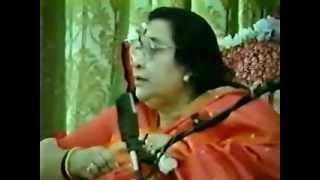 Sahaja Yoga   Shri Buddha Puja Talk 1992    Shri Mataji Nirmala Devi