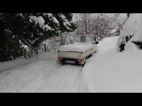 Subaru Sambar Off Road Snow Batumi