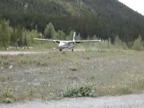Twin Otter Crashes on Take Off in BC