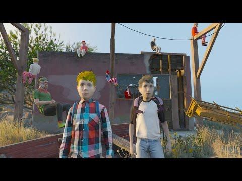 La Isla De Las MUÑECAS!! ● GTA 5 Misterios De México