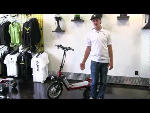 LYRIC Motion Electric Scooters various models explained