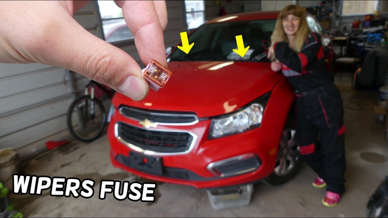Chevrolet Cruze Windshield Wipers Fuse Location Replacement  Windshield Wipers Not Working
