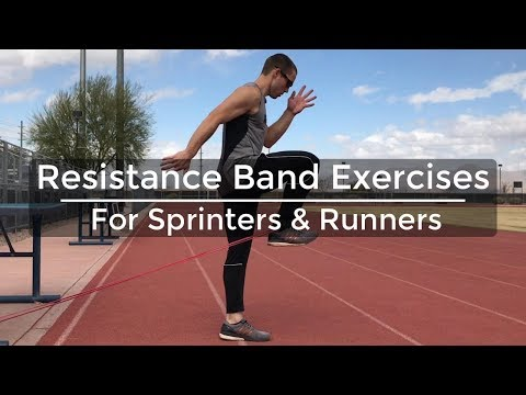 Speed Training Resistance Band Exercises for Sprinters & Runners Strength Training for Runners