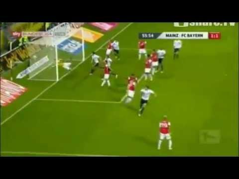FSV Mainz 05 Vs Bayern München 3-2 (Van Buyten Goal) [27.11.11]