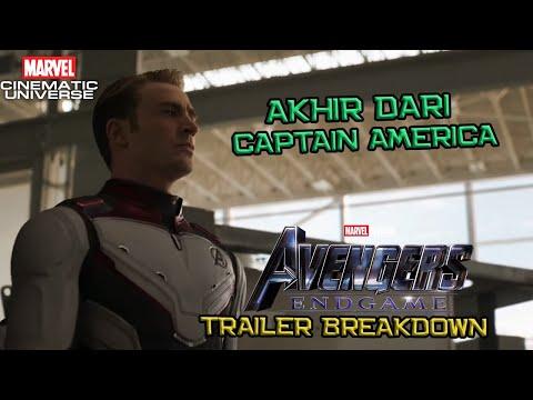 Pertanda Akhir Dari Captain America | Avengers End Game Trailer #2 Breakdown | Marvel Indonesia