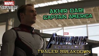 Pertanda Akhir Dari Captain America | Avengers End Game Trailer #2 Breakdown | Marvel Indonesia