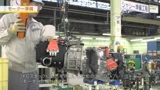 トヨタMIRAI生産 シャシー工程
